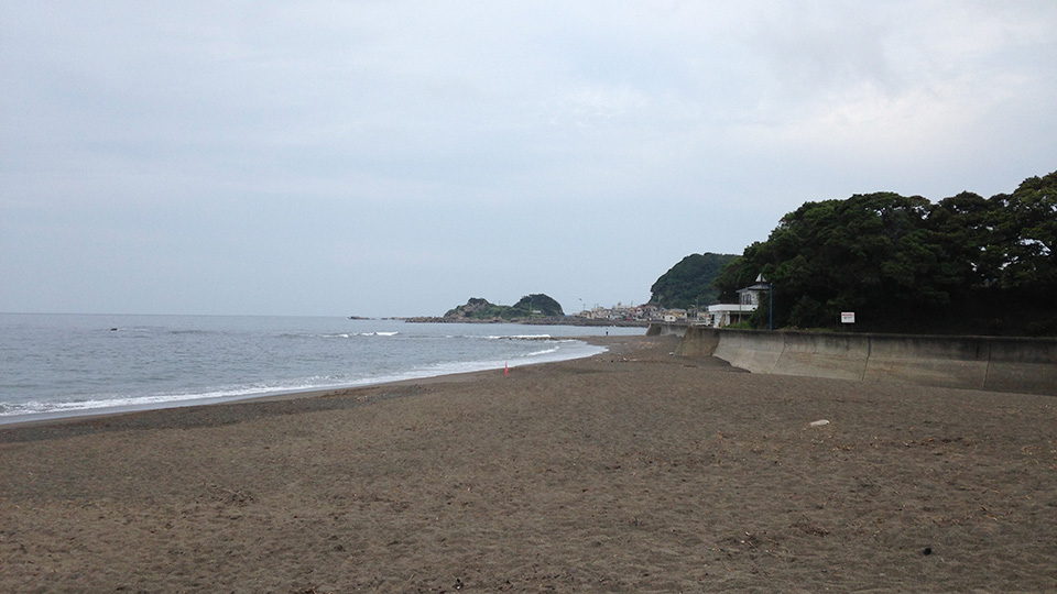 鴨川・太海の海